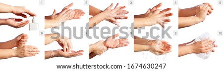 Step By Step Correct Procedure For Hand Washing  #1674630247