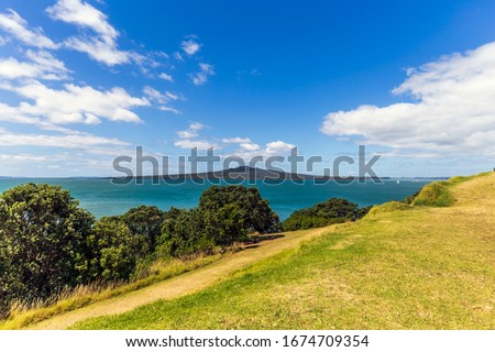 A summer day at North Head Devonport, New Zealand. #1674709354