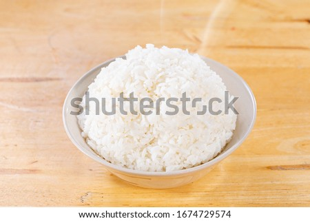 Steamed rice or boiled rice #1674729574