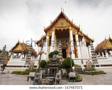 Wat Suthat Thepwararam in Bangkok, Thailand #167487071