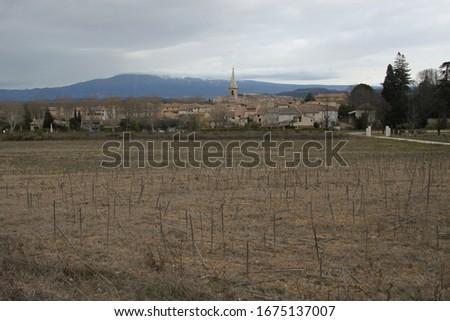 Saint Didier is a small peaceful village set amid the superb landscapes of the Monts de Vaucluse #1675137007