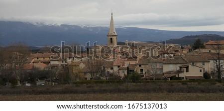 Saint Didier is a small peaceful village set amid the superb landscapes of the Monts de Vaucluse #1675137013