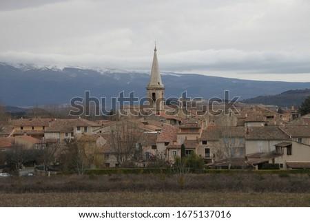 Saint Didier is a small peaceful village set amid the superb landscapes of the Monts de Vaucluse #1675137016