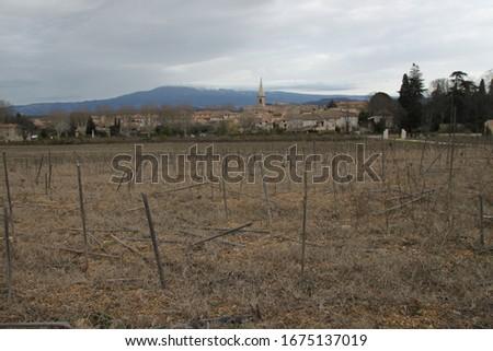 Saint Didier is a small peaceful village set amid the superb landscapes of the Monts de Vaucluse #1675137019