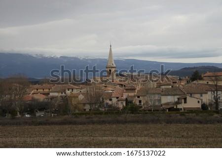 Saint Didier is a small peaceful village set amid the superb landscapes of the Monts de Vaucluse #1675137022
