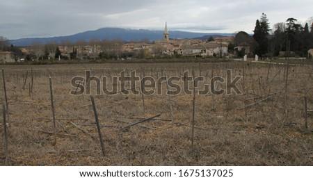 Saint Didier is a small peaceful village set amid the superb landscapes of the Monts de Vaucluse #1675137025