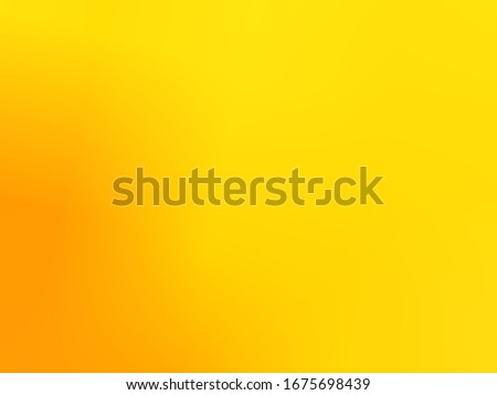 Golden yellow background or texture wall and gradients shadow Shiny yellow leaf gold foil. paper shape. High quality and have copy space for text #1675698439