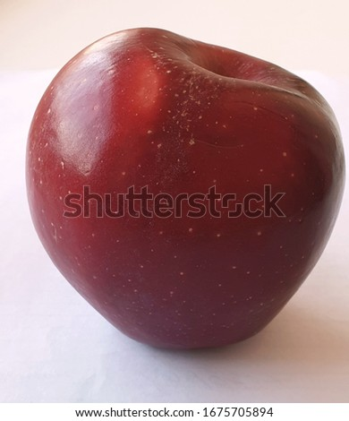 Apple picture with white background