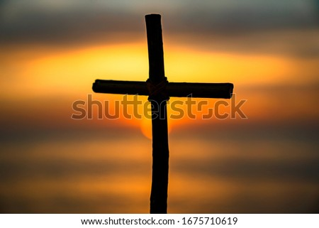 This is a picture of a cross in Kota Kinabalu.