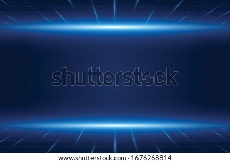 Vector futuristic technology background , Electronic motherboard , Communication and engineering concept Royalty-Free Stock Photo #1676268814