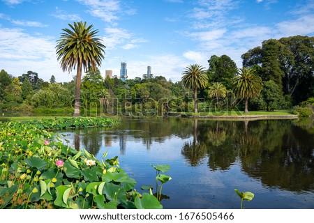 Royal Botanic Gardens in Melbourne, Victoria, Australia #1676505466