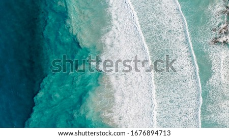 Birds view of Bremer Bay Royalty-Free Stock Photo #1676894713
