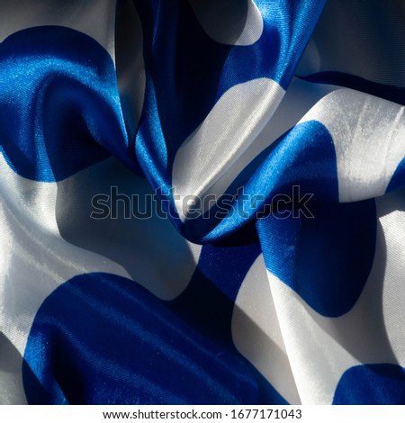 Texture, background, pattern, postcard, silk fabric, blue-white ovals, your projects will not go unnoticed with this fabric, buying this fabric you will be the best #1677171043
