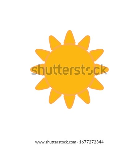 Sun Icon for Graphic Design Projects #1677272344
