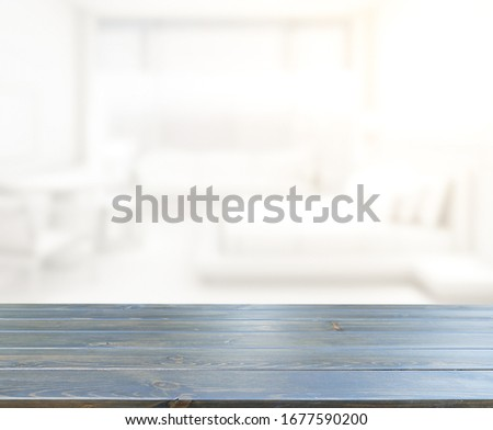 Table Top And Blur Background In The Bedroom #1677590200