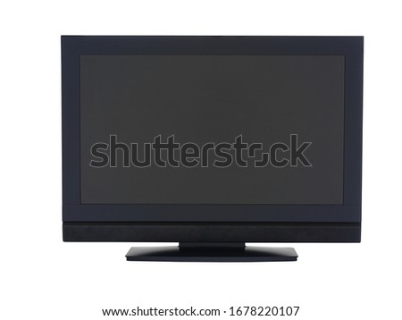 black television or computer screen  #1678220107