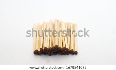 matches laid out in a row #1678541095