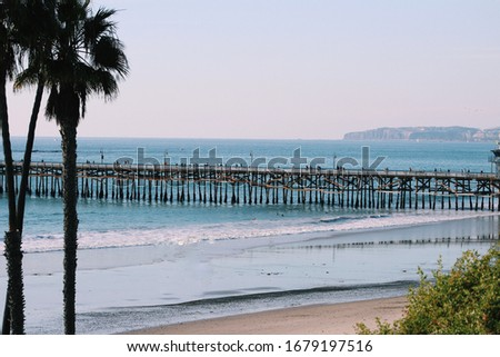 San Clemente Pier in California