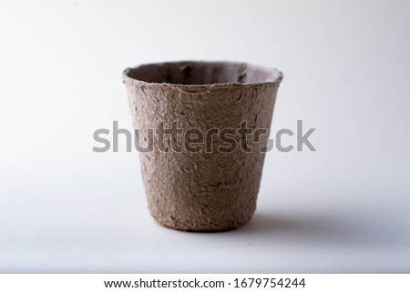 Paper cup on a white background #1679754244
