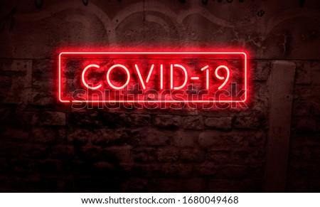 Covid-19 Global Pandemic Coronavirus Sign #1680049468