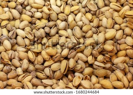 Pistachios. Salted pistachios. Pistachios in shell. pistachios close up. Pistachio background #1680244684