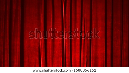 Real Velvet Cloth Stage silk Curtain. Curtain For theater, opera, show, stage scenes. Real Cinematic Curtain Photo. Glittering cloth. #1680356152