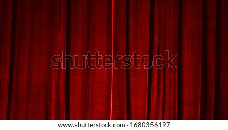 Real Velvet Cloth Stage silk Curtain. Curtain For theater, opera, show, stage scenes. Real Cinematic Curtain Photo. Glittering cloth. #1680356197
