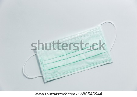 Medical mask Who saw each other in green Blue or white Can prevent the spread of this disease Therefore, those who are unwell with coughing and sneezing must wear medical masks. In order to prevent th #1680545944