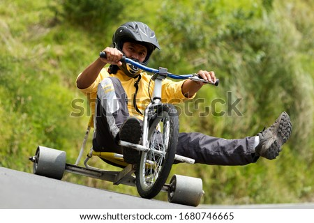 driving slick normally trike drifting a new race begin to take shape residence built tricycles that have slick rear wheels normally made from a tough plastic driving slick normally run play sport helm #1680746665