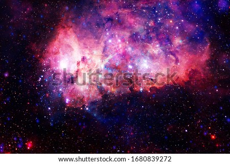 Beauty of endless cosmos. Science fiction art. Elements of this image furnished by NASA. #1680839272