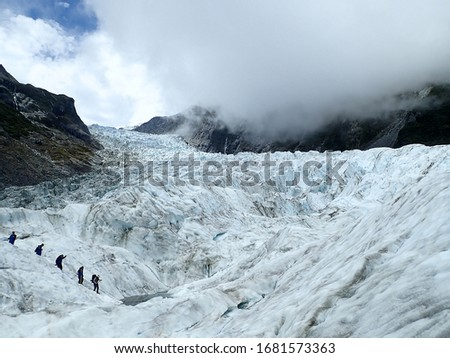 pictures of fox glacier in new zealand