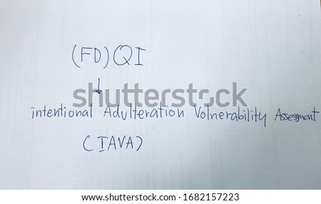For organizations that deliver products to the USA, you already know that At least 1 QI (FD) is required. Knowledge of Intentional Adulteration Vulnerability Assessment (IAVA) #1682157223