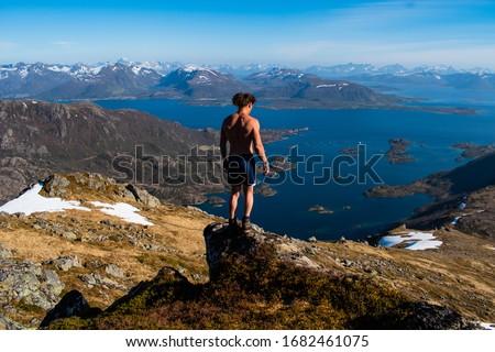 HIking in the Lofoten Islands #1682461075