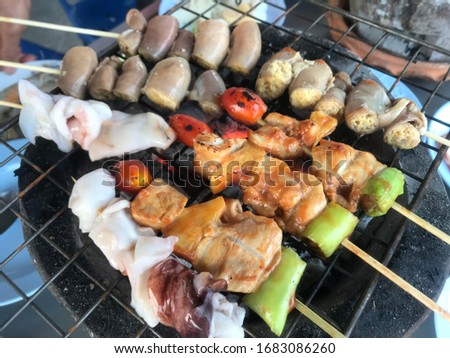 Picture of Delicious BBQ Grill