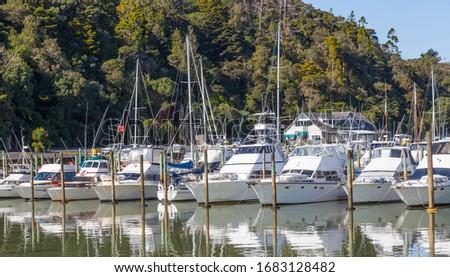 Tutukaka Marina on the Tutukaka Coast, Northland Region, North Island, New Zealand. #1683128482