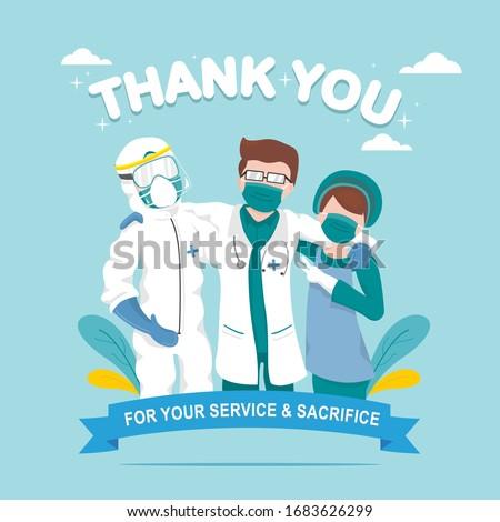 Appreciation for Health Care workers, doctors, nurses Service and Sacrifice amid corona virus outbreak #1683626299