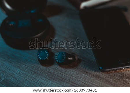 Wireless bluetooth earphones noname different angle #1683993481