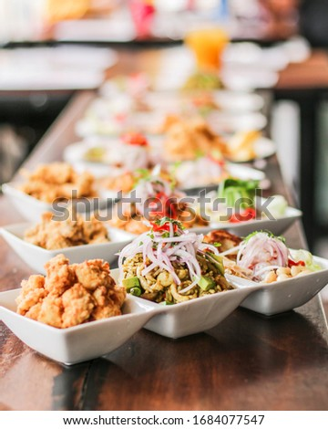 Peruvian ceviche and other seafood #1684077547
