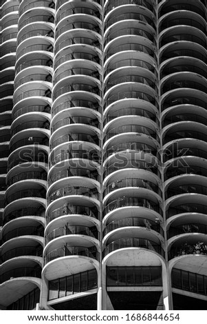Chicago is known for its skyscrapers among which Marina City is one of the icons