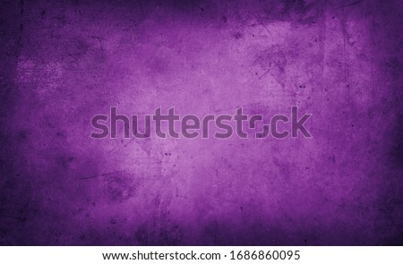 Closeup of purple textured grunge background. Dark edges Royalty-Free Stock Photo #1686860095