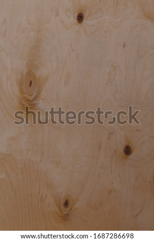 Brown wooden board or plywood texture background or backdrop #1687286698