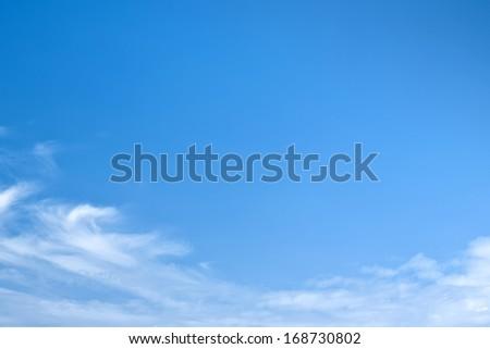 blue sky landscape #168730802