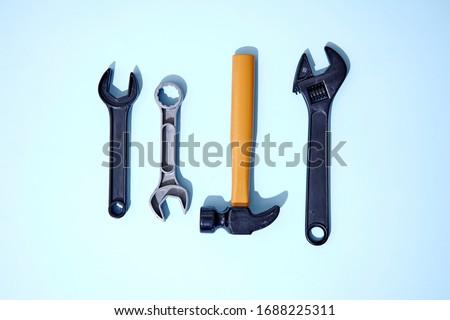 A studio photo of a industrial tools #1688225311