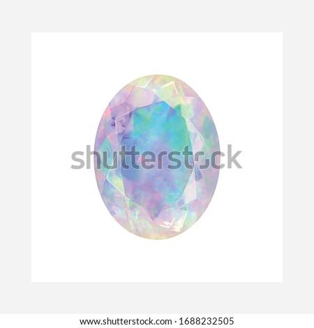 Diamond Ethiopian Opal Shape Cushion Emerald Heart Marquise Octagon Checkerboard Oval Pear Square Trillion