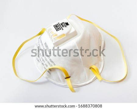 An N95 respirator is a respiratory protective device designed to achieve a very close facial fit and very efficient filtration of airborne particles, pm2.5, covid-19, corona virus. #1688370808