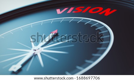 vision concept picture (3D Render) Royalty-Free Stock Photo #1688697706