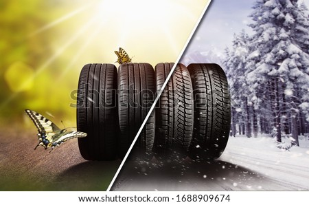 Swap winter tires for summer tires - time for summer tires #1688909674