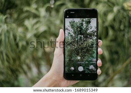 BANGKOK THAILAND : Samsung launch new smartphone Samsung Galaxy M11 on March 31 ,2020 bangkok ,thailand #1689015349