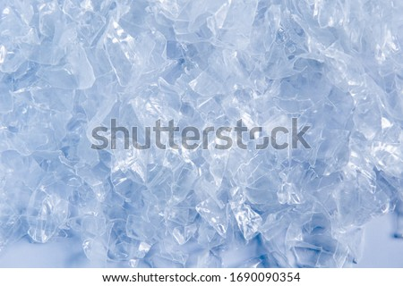 Polypropylene granule close-up background texture. plastic resin ( Masterbatch).Grey chemical granules for industrial plastic production Royalty-Free Stock Photo #1690090354