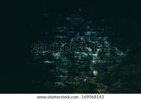 Scary background with stone structure